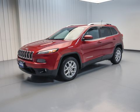 Pre-Owned 2016 Jeep Cherokee Latitude FWD Sport Utility