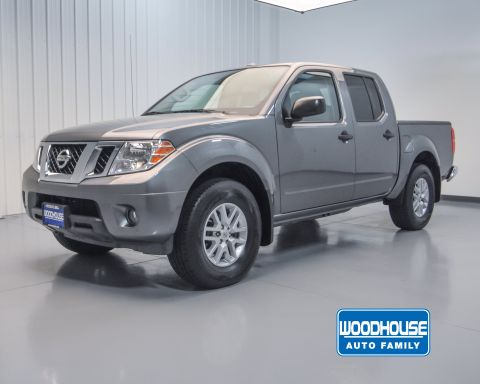 Certified Pre-Owned 2018 Nissan Frontier SV V6 4WD Crew Cab Pickup