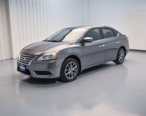 Pre-Owned 2015 Nissan Sentra S FWD 4dr Car